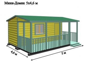 Дачный домик Ранчо