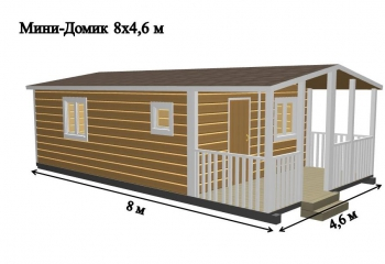 Дачный домик Монруж